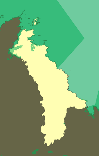 Natural 2000 zones of Goelo