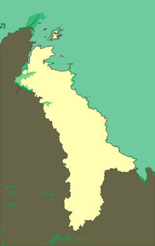 ZNIEFF type I zones of Goelo